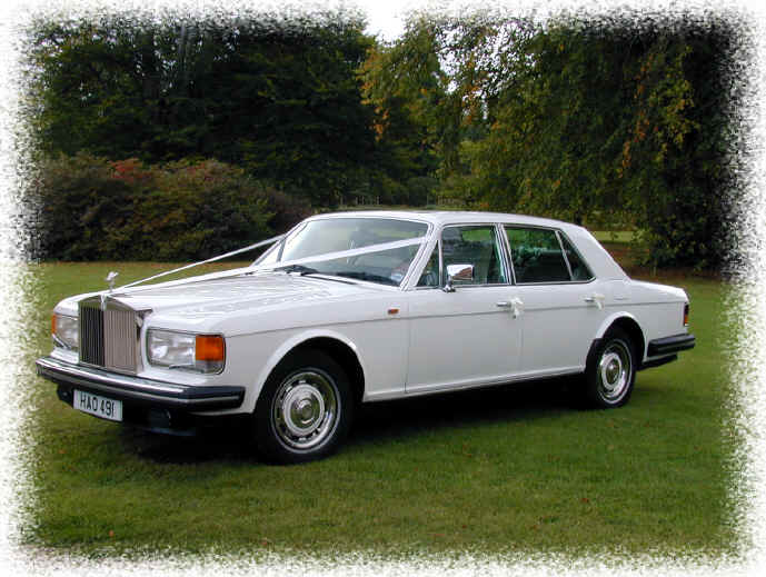 Rolls Royce Silver Spur Wedding Car